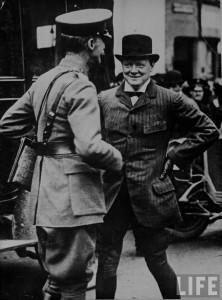 Winston Churchill young