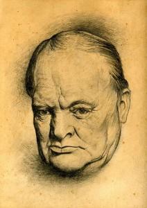 Churchill sketch